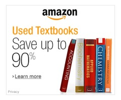Used Textbooks from Amazon - Save up to 90%