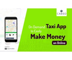 Avail An On Demand Taxi App To Easily Make Money On Online