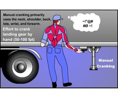 Make a safe work-place for your employees with the best powered landing gear for trailers.