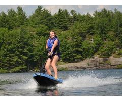 Surftek Surfboards Motorized jet surfboard
