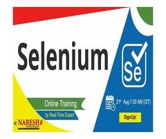 Selenium Online Training - NareshIT