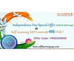 HURRY UP : INDEPENDENCE DAY SPECIAL  OFFER  : LEARN SAP COURSE @ 49 $ ONLY !   Start  Learning  Tod