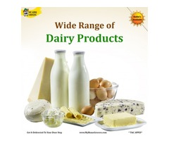 Buy Dairy Products Online Richardson,Texas - MyHomeGrocers