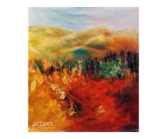 Modern Art Landscape Painting  Landscape Oil Paintings For Sale