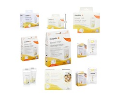 Medela Storage Bags, 100 Count Ready to Use Milk Storage Bags for Breastfeeding, Self Standing
