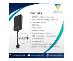 VSS03 GPS Tracker in Lucknow