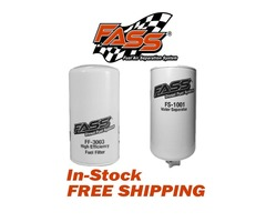 FASS FUEL SYSTEMS FS-1001 & FF-3003 REPLACEMENT FUEL & WATER SEPARATOR FILTER