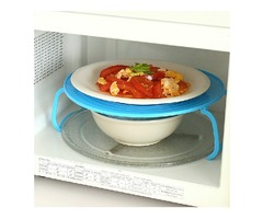 Multifunction Microwave Oven Steam Rack Double Layer Insulating Plate