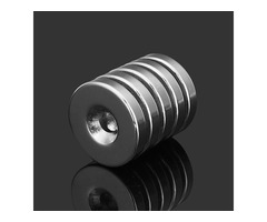 5pcs N35 Strong Disc Neodymium Magnets 25mm x 5 mm Round NdFeB Magnets With 6mm Hole