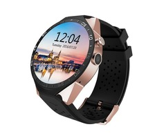 KW88 Smartwatch Heart Rate Tracker with GPS Navigation