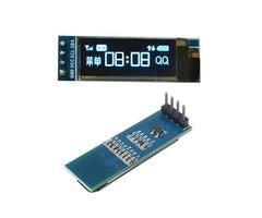 Geekcreit® 0.91 Inch 128x32 IIC I2C Blue OLED LCD Display DIY Oled Module SSD1306 Driver IC DC 3.3V