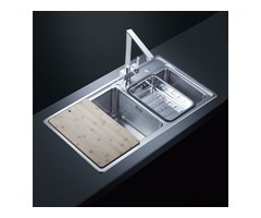 Stainless Steel Kitchen Sink Easy To Clean