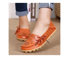 SOCOFY  Flats Shoes