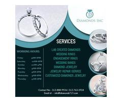 Buy Diamonds From Diamonds Inc at Historic Jewelers Row, Chicago