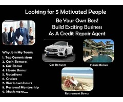 Credit Agents Needed!