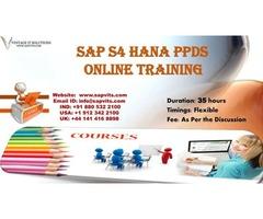 SAP S4 HANA PPDS Training