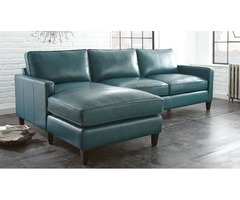 Teal Sofa Chaise Sectional