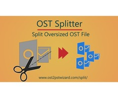 OST Splitter to Reduce or Split Large Size OST File into Small Files