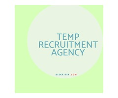 Temp recruitment agency – Diskriter