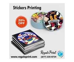 Discount offer on custom printing services are available at RegaloPrint