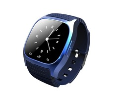 M26 Bluetooth Smart LED Watch Luxury R-Watch Dial Call SMS Anti Lost Sport Smartwatch for Android