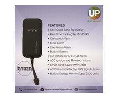 Vehicle GPS Device GT02D GPS Dealer | Lucknow
