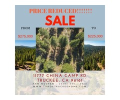 11777 CHINA CAMP ROAD TRUCKEE CALIFORNIA, 96161