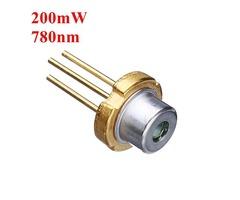 3.3mm 780nm 200mW Infrared IR Laser Diode Laser Module Generator
