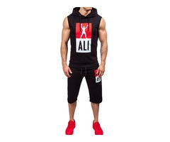 Tidebuy Hooded Sleeveless Mens Outfit