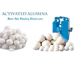Activated Alumina: Best Air Drying Desiccant