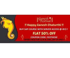 FESTIVE OFFER - Learn SAP Courses @ 50 % OFF