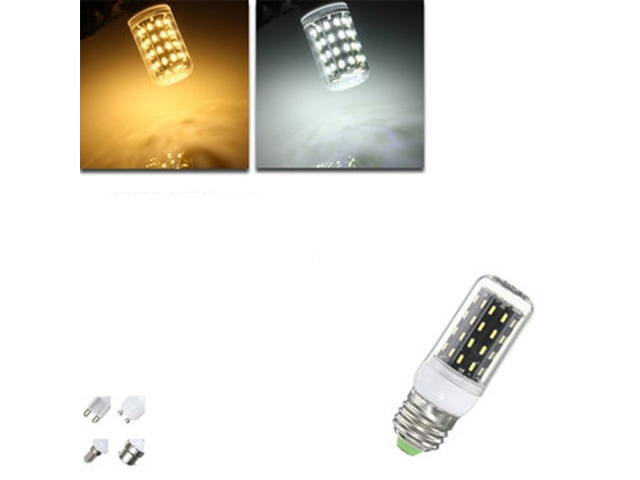 E27/E14/E12/B22/G9/GU10 LED Bulb 4W SMD 4014 56 400LM Pure White/Warm White Corn Light Lamp AC 220V | free-classifieds-usa.com