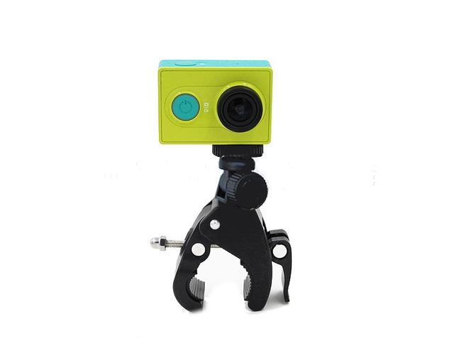 Bicycle Motorcycle Handlebar Handlebar Camera Mount Tripod Adapter for Xiaomi Yi Gopro Hero2 3 3+ 4 | free-classifieds-usa.com