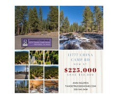 MAGNIFICENT 11777 CHINA CAMP ROAD TRUCKEE
