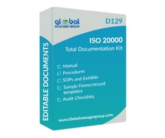 Get Readymade ISO 20000 Documents for Certification