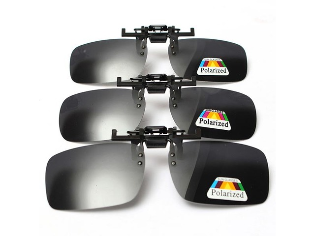 Polarized  Clip On Sunglasses Glasses Lens   free-classifieds-usa.com