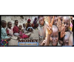 Donate money at Ccopac to end world hunger