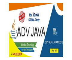 Advanced Java Online Training in USA - NareshIT