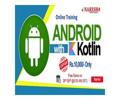 Android with Kotlin Online Training in USA - NareshIT