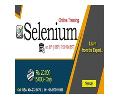 Selenium Online Training in n USA - NareshIT