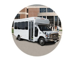 largest fleet of Limo Bus rentals