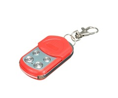 4 Buttons Electric Garage Gate Door Remote Control Key Fob 433MHz Cloning Red