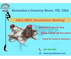 Shop best Gill net – Texastastes