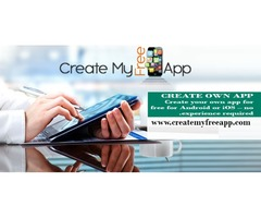 The best online app builder - Create My Free App