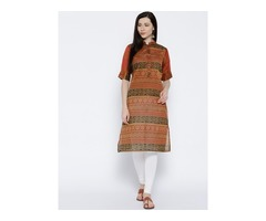 Shop Indian Kurtis Online At Mirraw | Flat @90% OFF