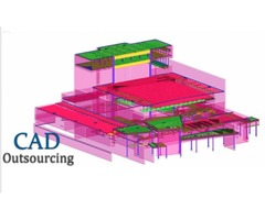 Steel Detailing services Toronto-CAD Outsourcing