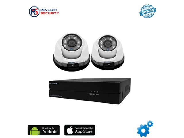 buy 2 camera dvr security system best package with best price