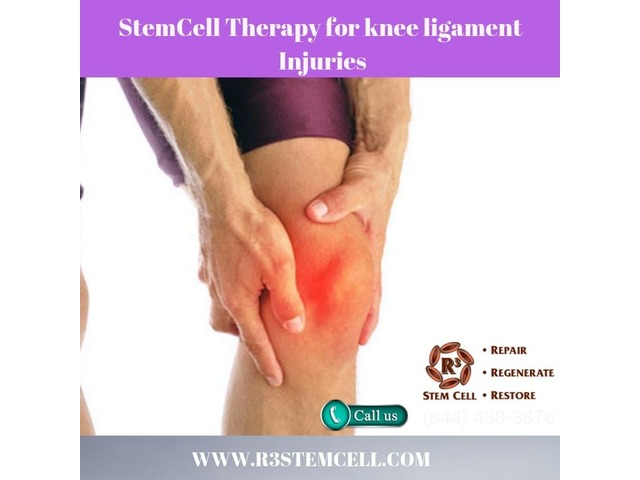 Get the Stem Cell Treatment For Knee Ligament Injuries at