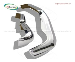 Mercedes Pagode W113 bumper (1963 -1971) stainless steel