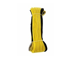 Jutemill Synthetic Winch Rope - Winch Cable with Sheath for ATVs Winches ATV UTV SUV